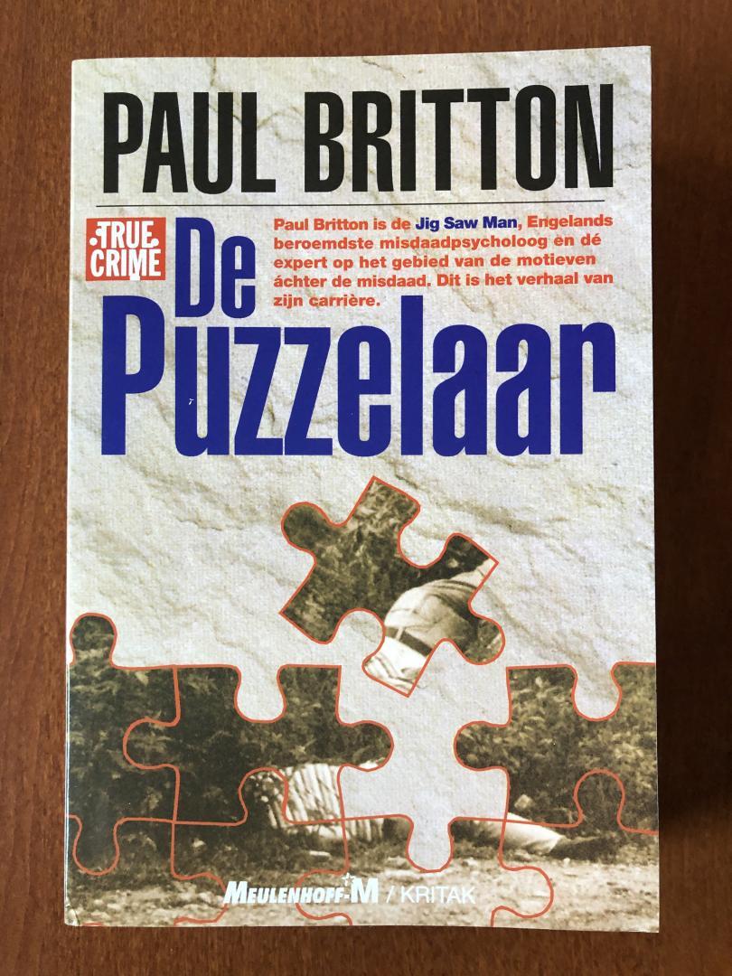 Britton, P. - De puzzelaar / druk 1