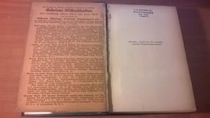 Freudenberg, F. Dr. Med. - Geheime Wissenschaften XVII. Paracelsus u. Fludd - Die beiden grossen Okkultisten und Ärzte des 15. und 16. Jahrhunderts. Mit einer Auswahl aus ihren okkulten Schriften.