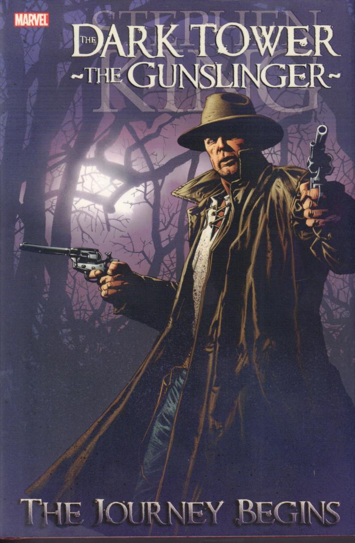 David, Peter / Robin Furth / Sean Philllips / Richard Isanove - Stephen King's The Dark Tower, The Gunslinger - The Journey Begins, hardcover + stofomslag, gave staat (nieuwstaat)