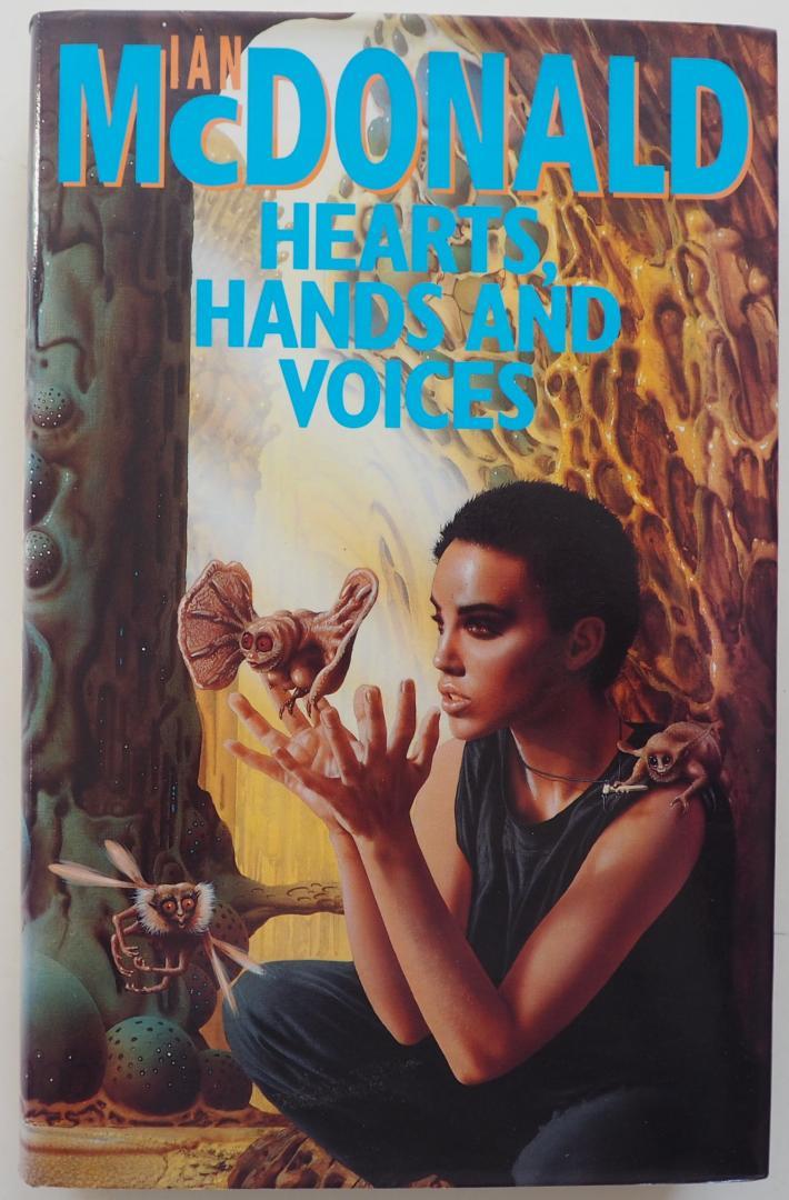 McDonald Ian, : Burns Jim omslag - Hearts, Hands and Voices Gesigneerd door de auteur