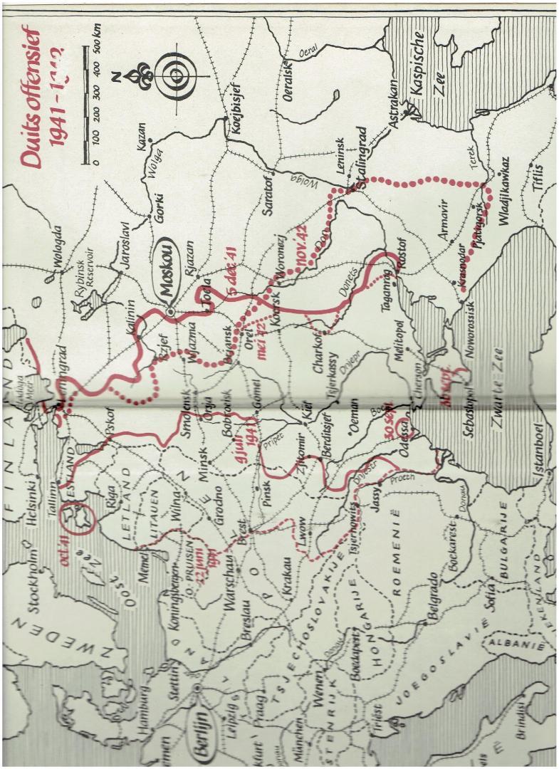 werth, alexander - rusland in oorlog 1941-1945 ( met vele foto,s )
