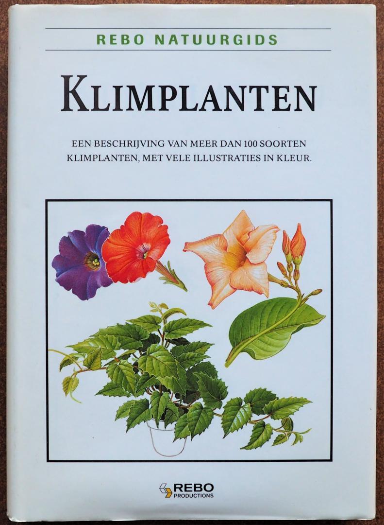 Tykac Jan.  Illustrator : Severa Franstisek - Klimplanten Een beschrijving van meer dan honderd soorten klimplanten met vele illustraties in kleur
