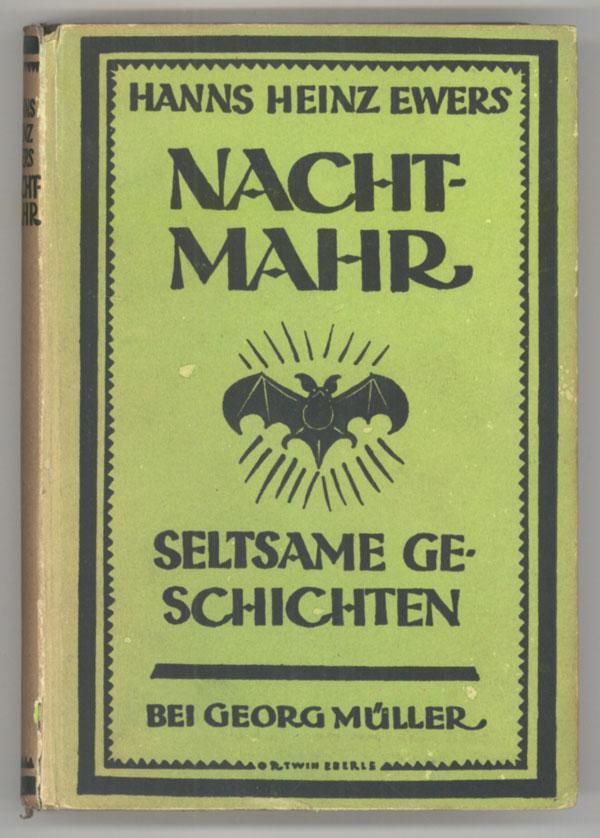 Ewers, Hanns Heinz - Nachtmahr  . Seltsame Geschichten