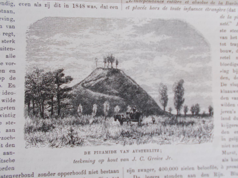 J.C. Greive Jr. e.a. - WOUDENBERG - DOORN - ZEIST / 3x PYRAMIDE van AUSTERLITZ - Pyramid at ZEYST/Zeist