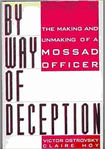 Ostrovsky, Victor / Hoy, Claire - By way of deception-  the making of a Mossad officer