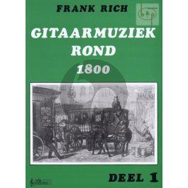 Rich, Frank - Gitaarmuziek  rond 1800 Deel 1