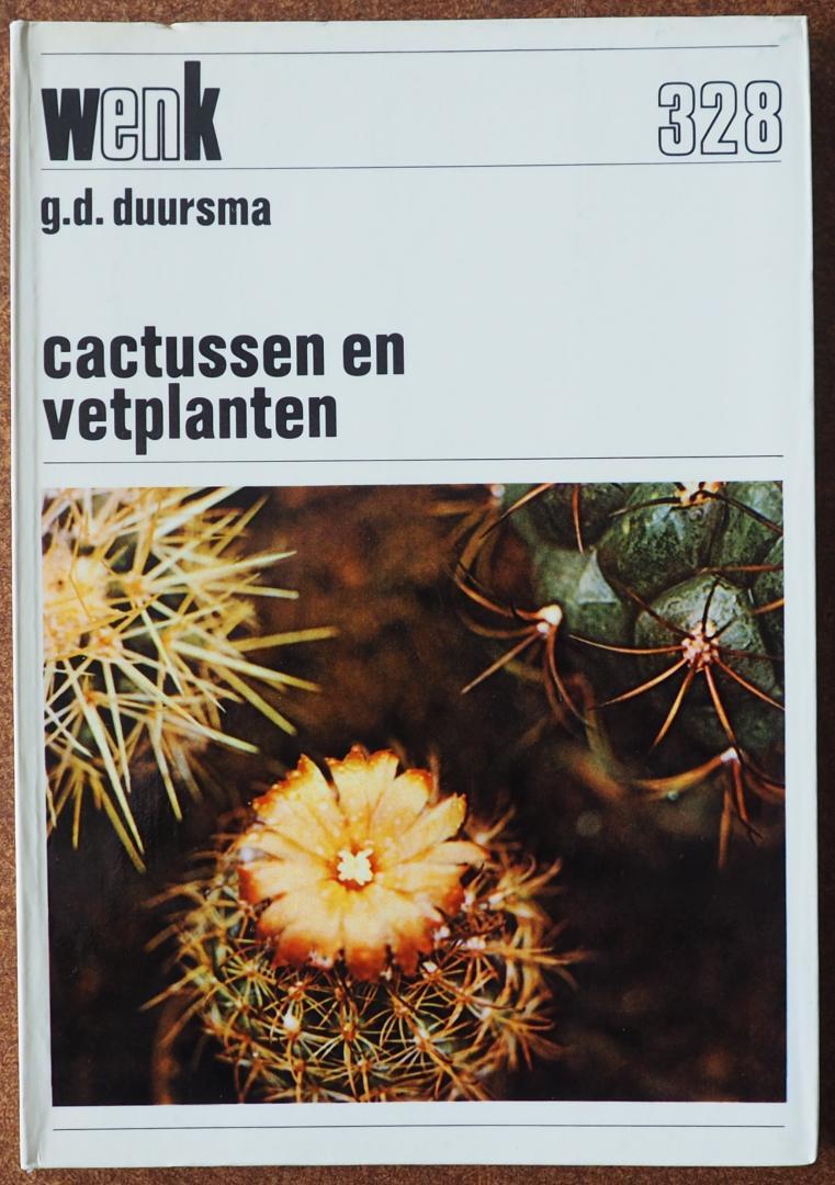 Duursma, G.D. - Cactussen en vetplanten. Met tweeënveertig foto`s.