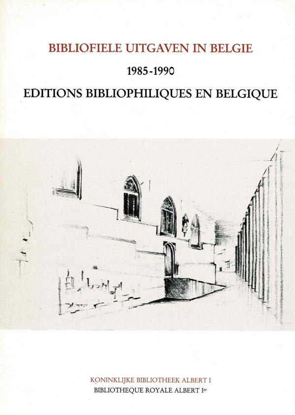 Elly Cockx-Indestege (inl) - Bibliofiele uitgaven in België