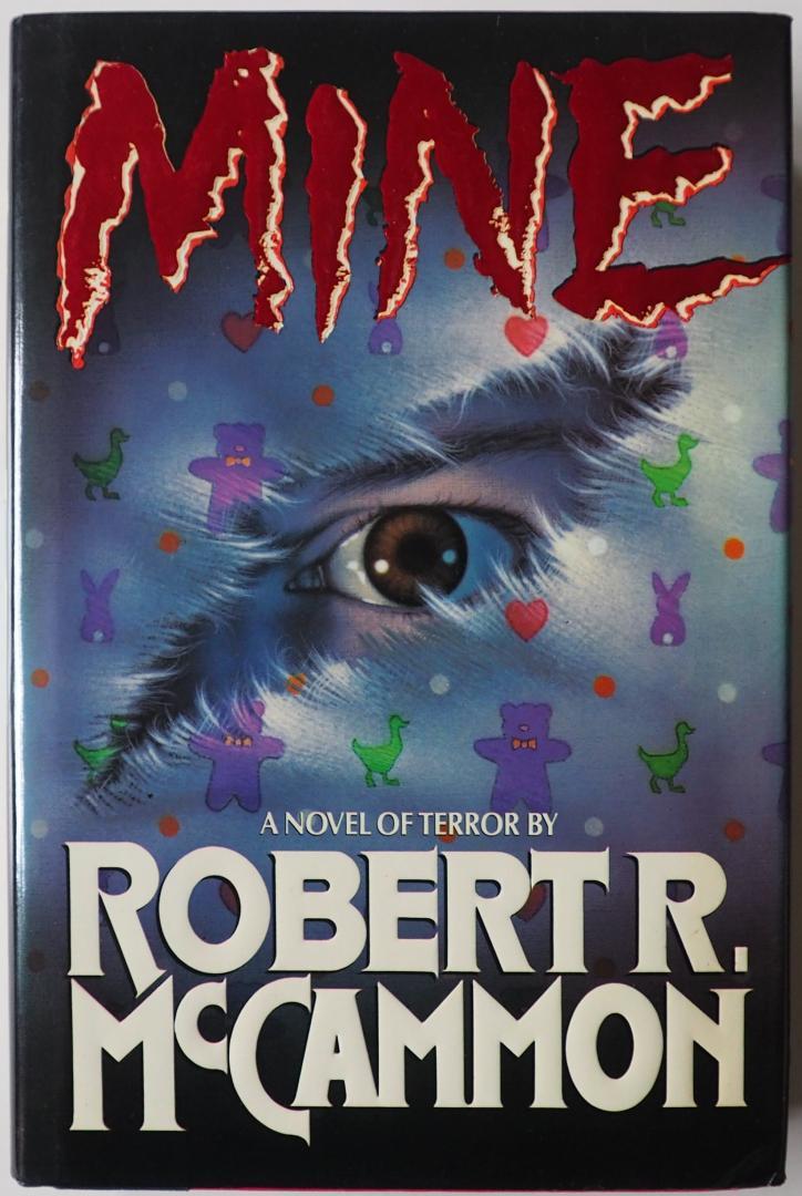 McCammon, Robert R gesigneerd door auteur - Mine A novel of terror
