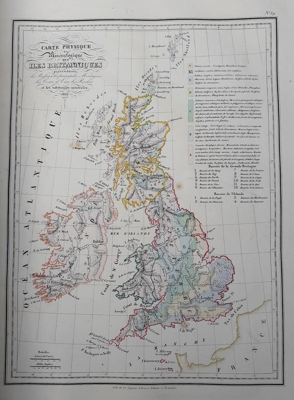 Malte-Brun - Atlas Complet... de Malte-Brun