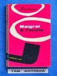 Georges Simenon - Maigret  a `l ecole