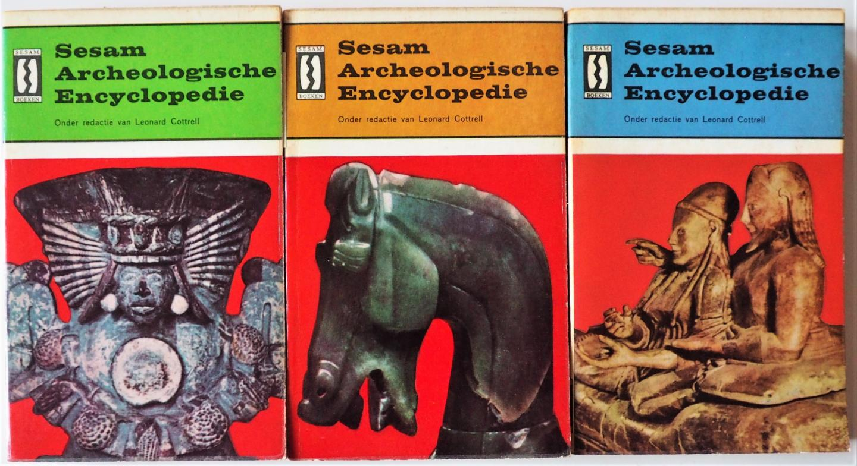 Cottrell Leonard e.a. - Sesam Archeologische encyclopedie 3 delen samen