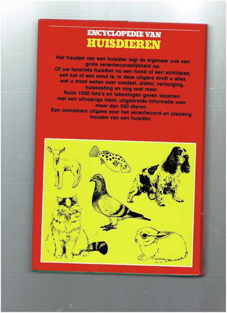 beekman, ban ( nederlandse vertaling/bewerking ) - encyclopedie van huisdieren ( meer dan 500 verschillende dieren worden hierin beschreven )