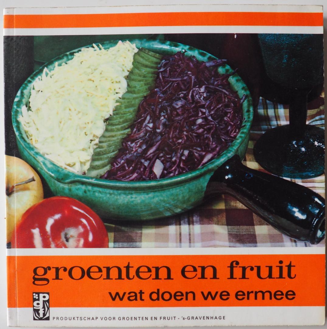 Buurman Kaptein, C. - Groenten en fruit wat doen we ermee