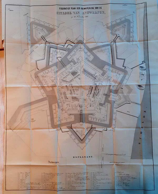 De Boer en Chassé - Belegering der Citadel van Antwerpen