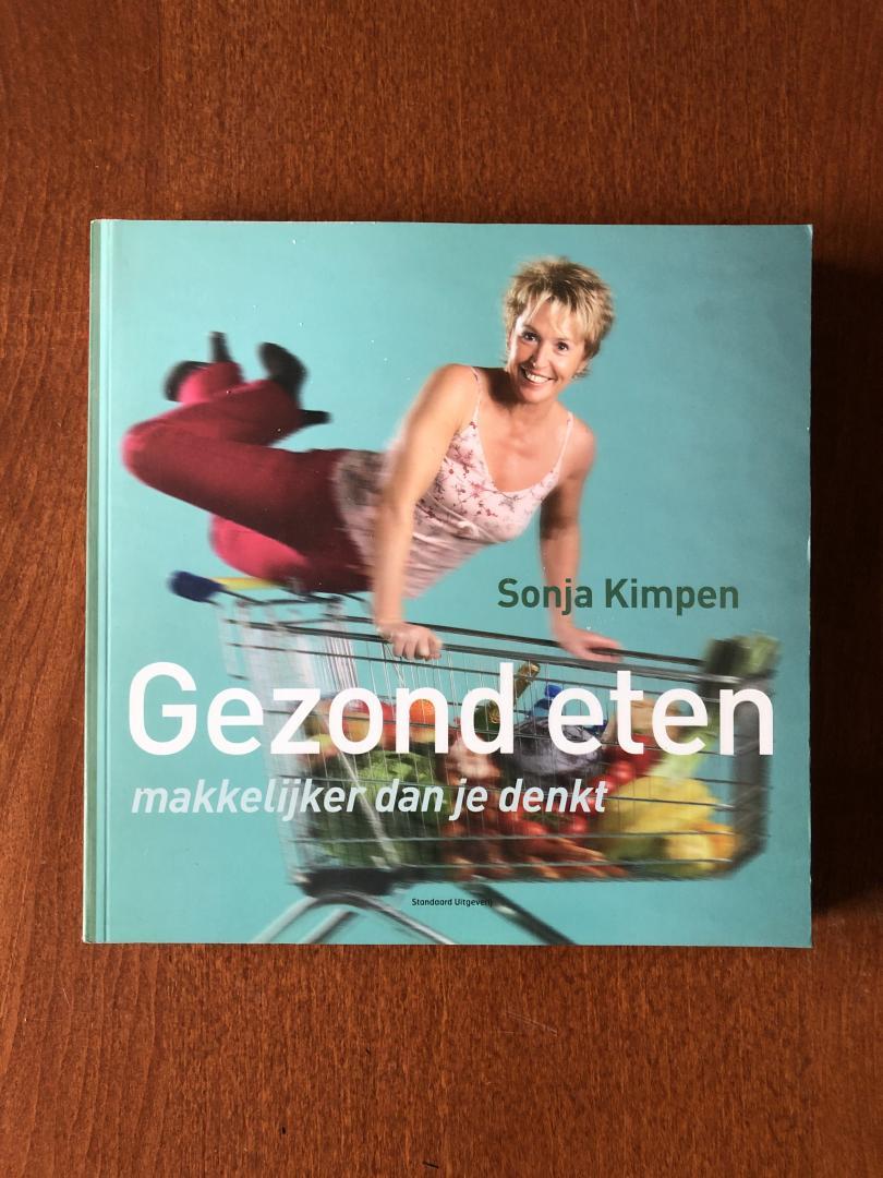 Kimpen, Sonja - Gezond eten / makkelijker dan je denkt!