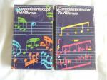 Willemze, Theo Th. - Componistenlexicon Deel 1  A-O  en Deel 2 P - Z /// ---- SAMEN 12.00 EURO ----