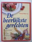 Wolter, Annette (e.a.) - De heerlijkste gerechten. Het grote kookboek met een kleurenfoto van ca. 500 heerlijke recepten. U ziet wat u gaat koken, want elk recept is afgebeeld in kleur.