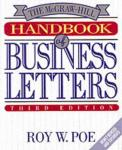 Roy W. Poe - The McGraw-Hill Handbook of Business Letters