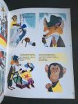 Landy, Roger en Galan, Jacques (ills.)  Vertaling Lea Smulders - Flip de Vraagvos en de zwarte circus-kat