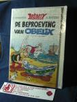 Uderzo,  Albert Tekst en tekeningen - Asterix  dl. 30. De beproeving van Obelix  / Uitvoering : met puzzel 120 stukjes