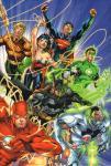 Johns, Geoff / Jim Lee - Absolute Justice League : Origin, hardcover + cassette, gave staat (nieuwstaat)