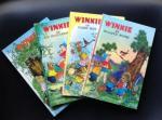 Schermelé Willy - Winkie en Blinkie Beer + Winkie en zijn woudvriendjes + Winkie en de paddestoelenstad + Winkie en Wolletje Wopsie