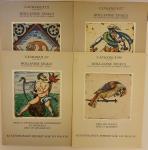 Divers - Hollandse Tegels, de collectie van de Heer F. Leerink [4 delen COMPLEET] Catalogus 321/327/337/349