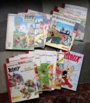 Uderzo, Albert - 16 x Een avontuur van Asterix de Galliër (veel eerste drukken)