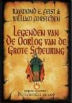 Feist, Raymond E. - 3 delen (gebonden met so) Legenden van - en 6 delen (5 paperbacks) De oorlog van De grote verscheuring