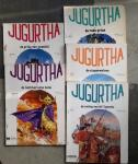Vernal, Jean-Luc - 5 x JUGURTHA : deel 1 de prins van numidië + 2 de keltische helm + 5 de oorlog van de 7 heuvels + 6 de steppenwolven + 8 de rode prins