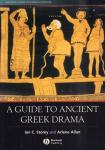 Storey, Ian C. and Arlene Allan - A Guide To Ancient Greek Drama, 311 pag. paperback, goede staat