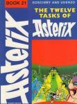 Gosginny, R. en A. Uderzo - Asterix Book 21, The Twelve Tasks of Asterix, softcover, gave staat