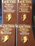 Goethe, Johann Wolfgang - Werke in Vier Bänden ; Gedichte, Epische Dichtungen aus meinem Leben ;Dramatische Dichtungen Naturwissenschaft; Roman und Erzählende Dichtungen I und II