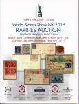 - World Stap Show NY 2016. Rarities Auction. Worldwide Stamps and Postal History. 3 June 2016
