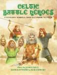 John Matthews & Bob Stewart Plates by James Field - Celtic battle heroes Cuchulainn, Boadicea, Fionn MacCumhail and Macbeth