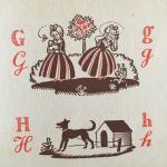 Riemens-Reurslag, J. and Bottema, Hil (ills.) - Het oude ABC Kleingoed nummer 3