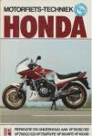 Skubisz, Stan - Motorfiets-techniek Honda. Reparatie en onderhoud aan VF750SC/SD, VF750CC/CD, VF750FD/FE, VF1000FE, VF1000R.