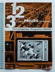 - 1 2 3 x ja zu Philips Fernsehen -  Fernsehgeräte Programm 1963/64