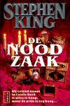 King, Stephen - Noodzaak, de (cjs) Stephen King (NL-talig) pocket 9024514770 gelezen boekje maar rechte rug. folie iets gerimpeld aan de rand.