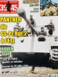 Bernage, Georges (ed.). - Magazine 39-45. No. 247. Panther du SS-Pz.Rgt.2. Rouen 1940. 20 juillet '44. Cherbourg.