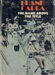 Frank Capra - The name above the title
