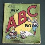 - My ABC Book Saalfield's Muslin Books