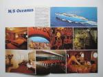 "Flotta Lauro • Lauro Lines - Brochure: Kreuzfahrten Lauro '81 • mit den m/s ""Oceanus"", 14.000 BRT und ""Achille Lauro"", 24.000 BRT"
