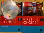 Lloyd, Angela.  Stevens, John. - First Choice Engels. B1. Textbook en Phrasebook, 2delen plus 2 CD's.