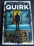 Quirk, Matthew - Vuistregel / Een miljard dollar, de ultieme bankroof