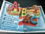 - ABC in Living Models A Book in which all the letters of the alphabet stand up in life-like form when the pages are open Bookana Series