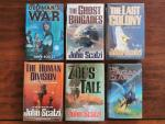 Scalzi, John - Old Man's War serie: Old Man's War; the Ghost Brigades; the Last Colony; Zoe's Tale; the Human Division, the Sagan Diary