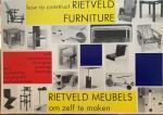 Drijver, Peter.    Niemeijer, Johannes. - Rietveld Meubels om zelf te maken. How to construct Rietveld Furniture.