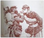 Eugène Montrosier - Les Artistes Modernes - Première partie: Les peintres de genre ; Deuxième partie: Les peintres militaires et les peintres de nus ; Troisième partie: Les peintres d'histoire, paysagistes, portraitistes et sculpteurs